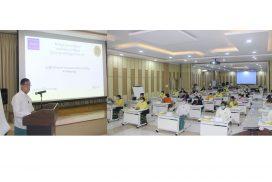 Workshop on attending Japan's online seminar on economic policies 2021 held
