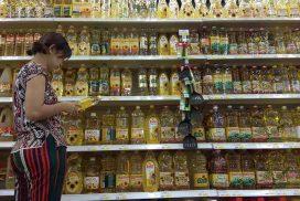 Domestic palm oil slips alongside drop in import price