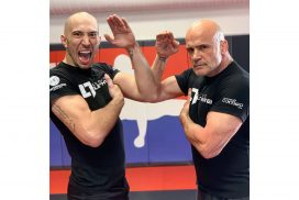 Dave Leduc shares Myanma Lethwei memories with American star Bas Rutten