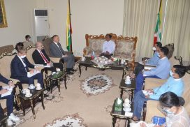 Union Minister Dr Charlie Than receives Russian Ambassador