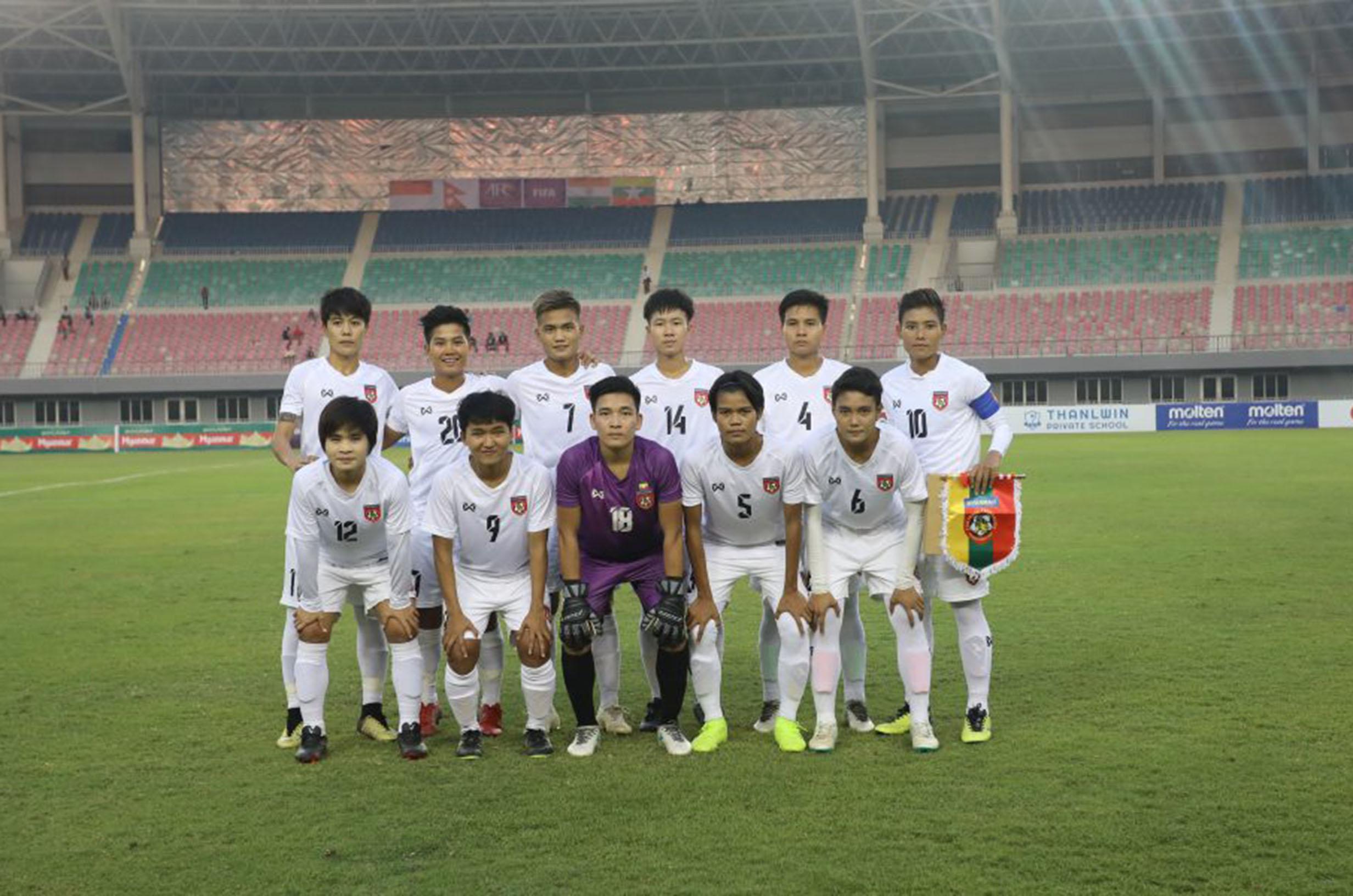 Group D Myanmar Women Team Photo mkmm