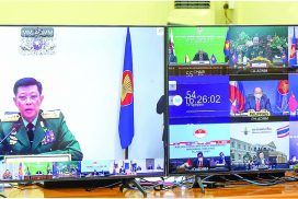 Defence Minister and officials attend 15th ASEAN Defence Ministers meeting