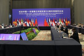 Union Minister for Foreign Affairs U Wunna Maung Lwin attends Special ASEAN-China Foreign Ministers' Meeting in celebration of 30th anniversary of dialogue relations