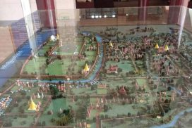 Inwa museum features models of ancient city Inwa
