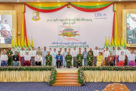 We, Myanmar people, love trees and forests and have had a sense of consciousness on the conservation of forest since a long time ago: Senior General