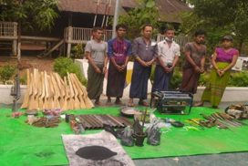 Police arrest six suspects in Magway
