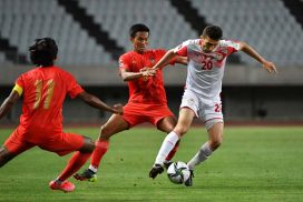 FIFA World Cup Qualifiers: Myanmar face 0-4 loss to Tajikistan