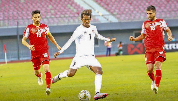 Myanmar vs Taji NS
