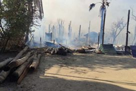 Press release of facts about fire in Kinma village, Pauk Township, Magway Region