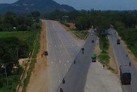 Kyaukse detour, Zawgyi River bridge almost complete
