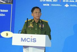 Discussions (excerpt) of State Administration Council Chairman Commander-in-Chief of Defence Services Senior General Min Aung Hlaing under the title of The Asia-Pacific Region in the Context of Global Politics at 9th Moscow Conference on International Security