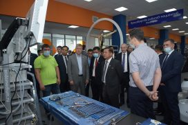 Chairman of State Administration Council Commander-in-Chief of Defence Services Senior General Min Aung Hlaing and party pay visits to medical equipment production companies in Kazan