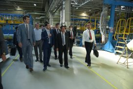 """The delegation led by Chairman of State Administration Council Commander-in-Chief of Defence Services Senior General Min Aung Hlaing visits PJSC """"Kazan Helicopters"""" factory in Kazan, capital of Republic of Tatarstan"""