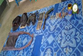 Two bombers arrested with arms in Ayadaw, Sagaing Region