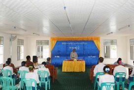 Union Minister for Information inspects MRTV retransmission station in Laukkai