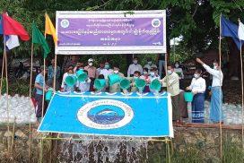 500,000 fingerlings released into Toe river in Maubin