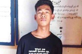 Man wearing school uniform arrested for sound bomb blast in school compound
