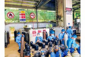 Govt steps up efforts to secure oxygen supplies in COVID-19 control operations