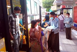 YRTC to distribute over 250, 000 face masks  to public in Yangon
