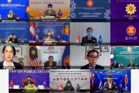 21st ASEAN Senior Officials' Meeting on Transnational Crime continues