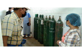 Hidden 35 oxygen cylinders, 13 oxygen concentrators found at Homalin General Hospital (100-bedded)