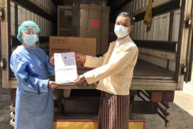 Thailand International Cooperation Agency donates lab commodities, protective equipment for Myanmar's COVID-19 response