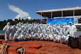 52 Myanmar fishermen quarantined in Kawthoung city
