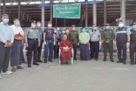 Detained Myanmar citizens in Thailand repatriated