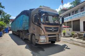 More medical supplies arrive at Chinshwehaw border checkpoint