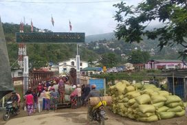 Myanmar-India border trade up by $111.94 mlnas of 2 July