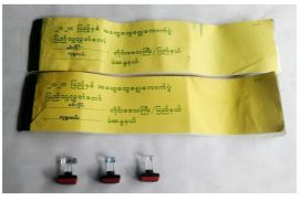 Police seized ballots, seals bearing UEC symbol from former Homalin Ward election sub-commission chair