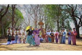 Myanmar women's  traditional clothing  boasts of impressive beauty