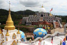 World biggest pagoda made of bamboo strips, Khemarahta Mayeik Stupa to be constructed in Myeik