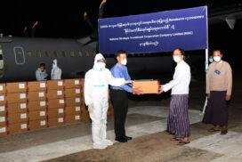 Myanmar receives 30,000 Remdesivir drugs used in COVID-19 treatment from NSIC