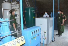 Oxygen cylinders donated to public hospitals, military hospitals, health departments, COVID-19 centres across nation