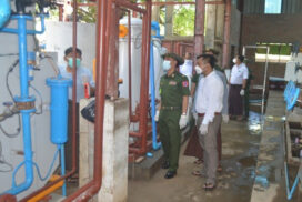 Oxygen tanks distributed to hospitals, Covid-19 centres