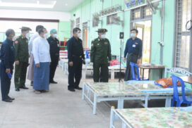 Preparations continue to provide healthcare services to COVID-19 patients