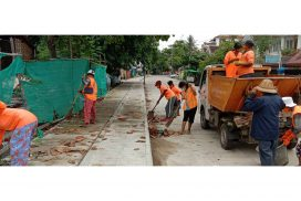YCDC collects waste in municipal area daily