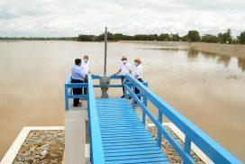 Ecosystem-based comprehensive development project implemented near Chaungmange Dam