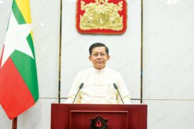 The Speech made by State Administration Council Chairman Senior General Min Aung Hlaing on the occasion of six months on 1 August 2021 since the State Administration Council has taken the State's responsibilities: -