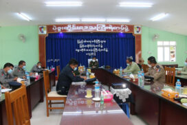 MoHA Union Minister inspects Bago prison