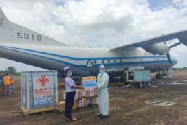 COVID-19 vaccines distributed nationwide for second injections