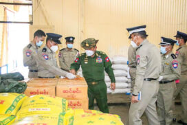 Union Home Affairs Minister inspects Mawlamyine prison, Kyaikmaraw central prison