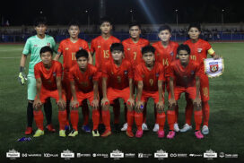 Myanmar women's team stands tenth place in Asia this month