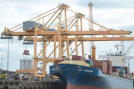 Myanmar's maritime trade drops by 5.6 bln in 10 months