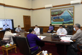 Myanmar Economic Recovery Plan-MERP Final Consultation and Presentation led by Working Committee to address the impact of COVID-19 on National Economy Virtual Meeting