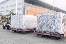 700,000 units of Sinopharm COVID-19 vaccine and related equipment imported by Myanmar Chinese Chamber of Commerce arrive at Yangon International Airport