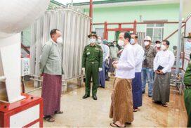 Liquid Oxygen Plant (Nay Pyi Taw) starts running