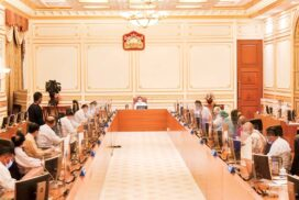 Tatmadaw will accept negotiation with any ethnic armed organizations except for organizations declared as terrorist groups: Senior General