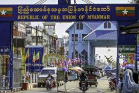 Myanmar-Thai border trade up $46 mln this FY